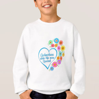 Godmother Special Heart Sweatshirt
