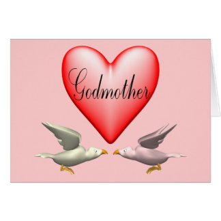 Godmother T-shirts and Gifts For Her Greeting Card