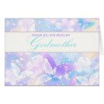 Godmother Thank You Pastel Butterflies