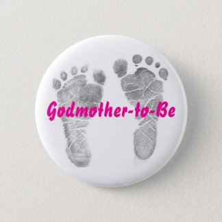 Godmother-to-Be 2 Inch Round Button