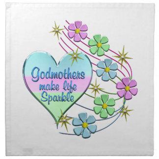 Godmothers Make Life Sparkle Napkin