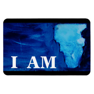 GOD'S ANSWER (I AM) RECTANGULAR PHOTO MAGNET