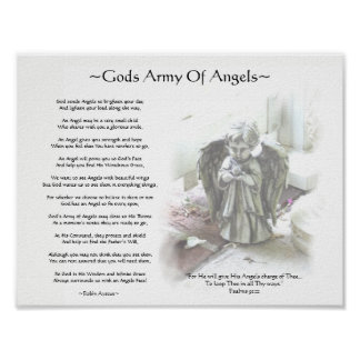 GODS ARMY OF ANGELS POSTER