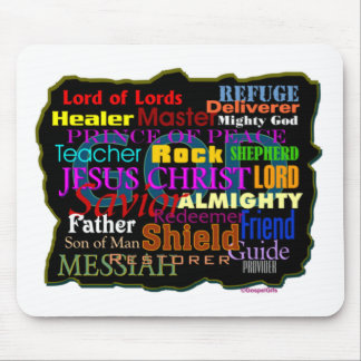 God's Attributes Mouse Pad