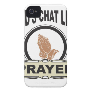 gods chat line prayer Case-Mate iPhone 4 case