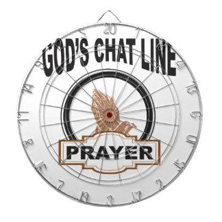 gods chat prayer dartboard