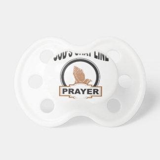 gods chat prayer pacifier