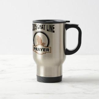 gods chat prayer travel mug