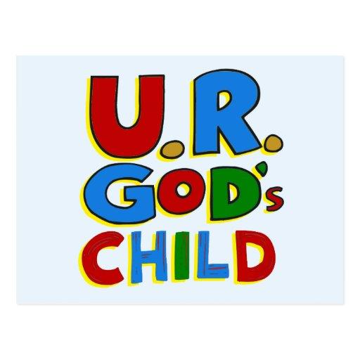 God's Child Postcards