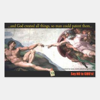 God's Creation Bump Stiker Sticker