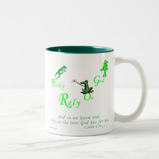 Gods Creation Series - FROG Two-Tone Coffee Mug