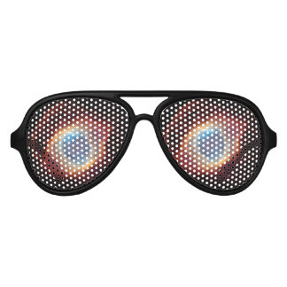 Gods eyes/Neublina planet Aviator Sunglasses