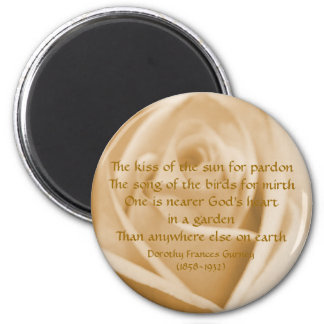 God's Garden Poem - magnet