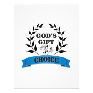 gods gift horse custom letterhead