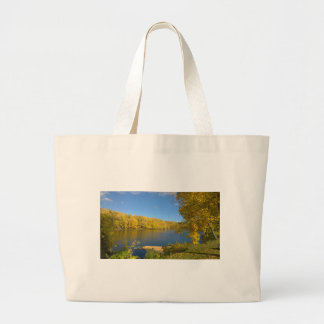 God's Golden Touch Large Tote Bag