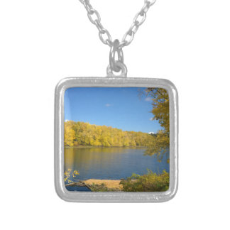 God's Golden Touch Silver Plated Necklace