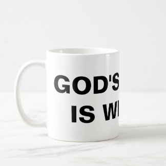 """God's Grace Is With Us"" Classic Mug"