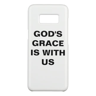 """God's Grace Is With Us"" Samsung Galaxy S8 Case"