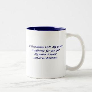 God's Grace Two-Tone Coffee Mug