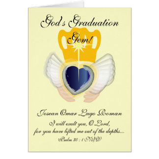 God's Graduation Gem!-Customize Card