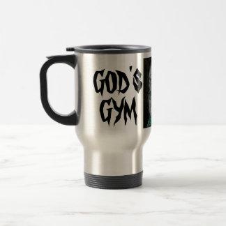 GOD'S GYM COFFEE MUG
