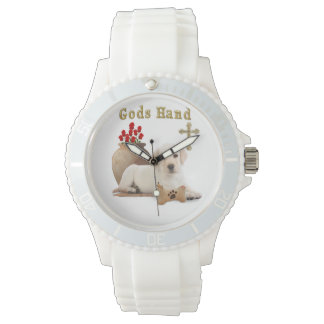 Gods hand puppy wrist watches