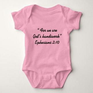 """""""God's Handiwork"""" Baby Wear Baby Bodysuit"""