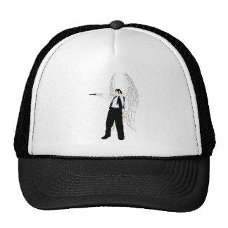 God's Hitman Angel With a Pistol Mesh Hat