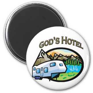 Gods Hotel Magnet