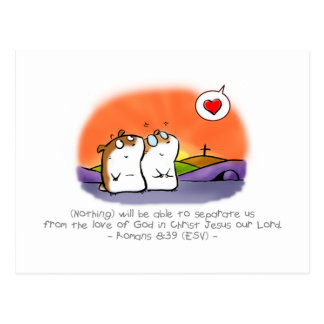 God's Inseparable Love Postcard