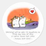 God's Inseparable Love Sticker