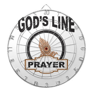 gods line prayer dartboard