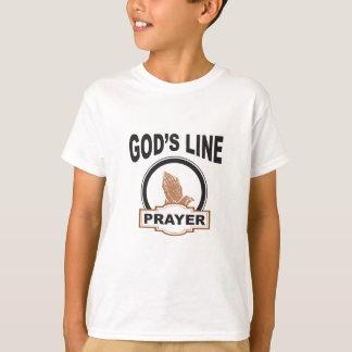 gods line prayer T-Shirt