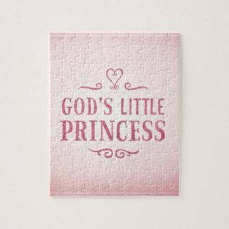 God's Little Princess Jigsaw Puzzle