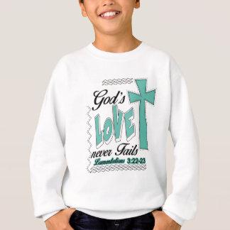 Gods Love Never Fails Lamentations Gift Sweatshirt
