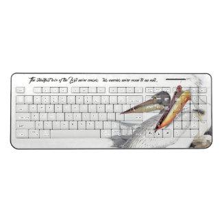 Gods Love Pelican Birds Wildlife Wireless Keyboard