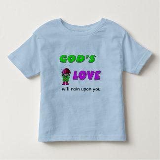 Gods love will rain upon you Christian design Tshirts