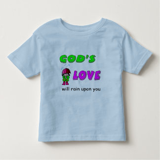 Gods love will rain upon you Christian design Tshirts