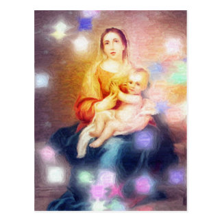 God's Masterpiece Is Mother Postcard