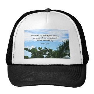 God's Mercy: Psalm 103:12 Trucker Hat