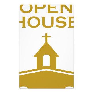 God's Open House Custom Stationery