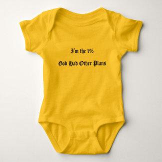 God's Plan Baby Jumper Baby Bodysuit
