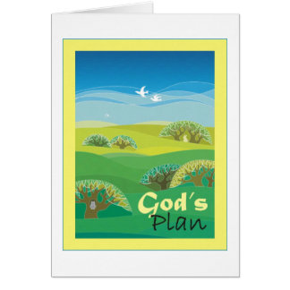 God's Plan Card