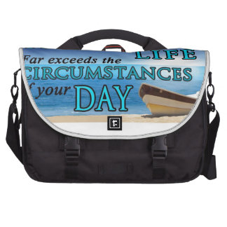 God's Plans For Your Life Commuter Bags