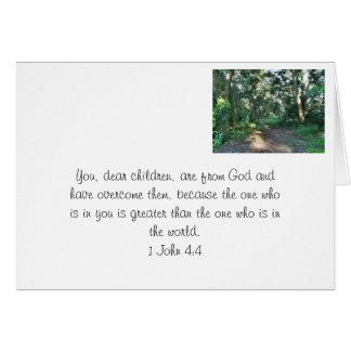 God's promise. card