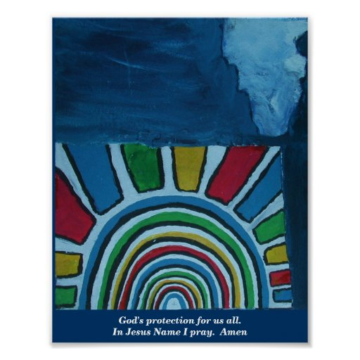 GOD'S PROTECTION FOR US ALL POSTER