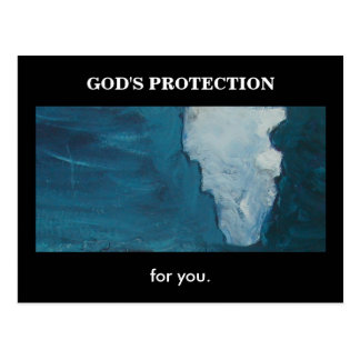 GOD'S PROTECTION(ISAIAH 41) POSTCARD