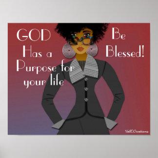 God's Purpose Poster