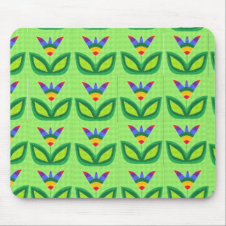 God's Rainbow Garden Mouse Pad