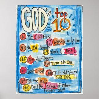 God's Top Ten Poster